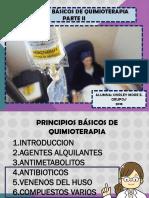 PRINCIPIOS DE QUIMIOTERAPIA  PARTE II.pptx