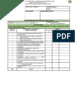 Lista de Cotejo Trabajo de Aplicacion