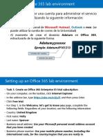 Pasos Para Crear Cuenta Office 365