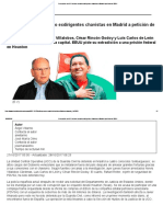 Corrupción_ La UCO Detiene a Cuatro Exdirigentes Chavistas en Madrid a Petición de EEUU