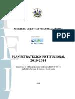Plan Estrategico Institucional 2010-2014