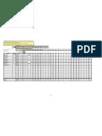 Copy of Copy of Excel Grade Sheet model