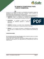 Manual de Manejo Ponedoras Para Huevo Comercial