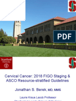 2018 FIGO Staging & ASCO Guidelines Cx IGCS