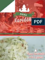 Menú Navideño - Gastronomía Internacional