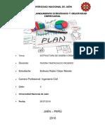 Trabajo de Planeamiento Estrategico y Creatividad Empresarial