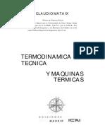 Termodinamica Tecnica y Motores Termicos