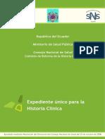 Expediente único para la Historia Clínica.pdf
