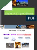 Seguridad e Higiene Minera II