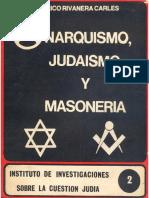 Anarquismo, Judaísmo y Masonería - Federico Rivanera Carlés