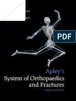 Apley System of Orthopaedics and Fractures 9th Edition