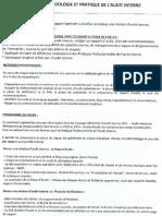 UE 1.4 Méthodologie Et Pratique de l'Audit Interne  / COURS COMPLET I.A.E Bordeaux / M 2 DFCGAI