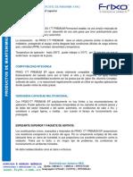 Frixo 177 Premium Grasa Multiproposito de Parafin a y Pao