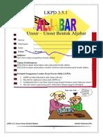 D. LKPD Unsur-unsur Aljabar