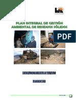 PLAN INTEGRAL DE GESTIÓN AMBIENTAL DE RESIDUOS SOLIDOS SAN PABLO