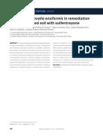 Action of Canavalia Ensiformis in Remediation