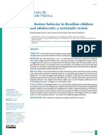 Sedentary Behavior in Brazilian Children