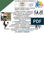 Escuela Cultural Artistico Deportiva Volante Eis