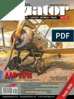 Global Aviator SA 2018-11
