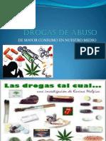 Drogas de Abuso Present.