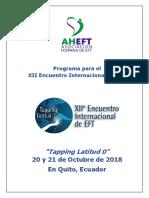 Programa Del XII Encuentro EFT FINAL