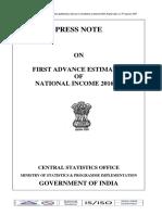 Advance Esimate GDP 2017