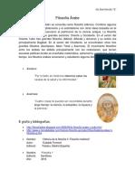 Filosofía Árabe y Filosofía Judía