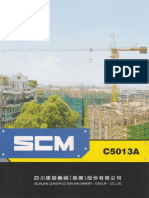 SCM C5013A Tower Crane