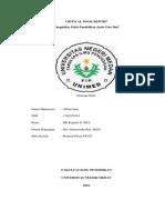Critical Book Report Paud Alfian