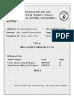 Diagnstico Organizacional D. Rodrguez Mansilla