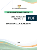 MODUL English for Communication Edit30oct13