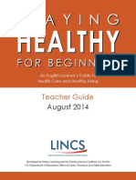 Staying Healthy Teacher Guide 2014