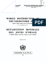 World Distribution of Thunderstrom Days Part2