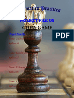 Chess Game Report (2018-19)