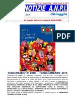 notiziario ANPI Chioggia, numero 39 - 21 ottobre 2018