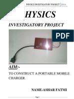 255753265 Physics Investigatory Project Class 12