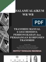 Presentasi transmisi manual