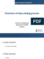 2-Overview of Data Mining Process