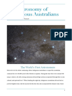 The Astronomy of Indigenous Australians