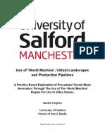 practice based dissertation  garethhughes