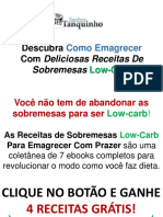 Sobremesas Low Carb Gratis