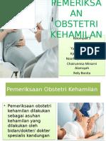 Pemeriksaan Obstetri Kehamilan