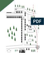 Peta Wilayah Kerja Puskesmas Manggelum Kampung Mangga Tiga
