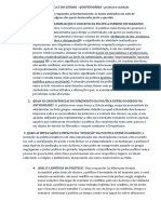 Questionário - Ciencia Política e do Estado - 2014
