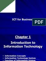 ICT for Business (BBC04) - Slides