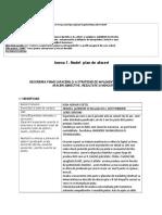 Anexa 1. Model Plan de Afaceri