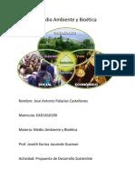 Medio Ambiente y Bioética Actividad Una Propuesta de Desarrollo Sostenible