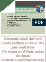 Antropologia Social Del Peru