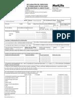 Formularios-Reclamaciones Seguro Incapacidad (ASR) Metlife