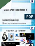 Cefet-rj Microporcessadores II Aula-01